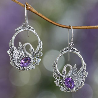 Handcrafted Amethyst Jewelry