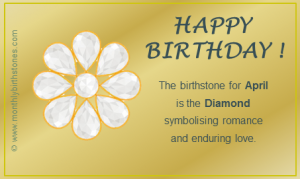 April Birthstone eCard