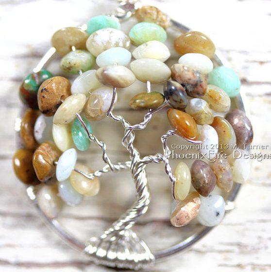 Opal Tree of Life by Phoenix Fire Designs