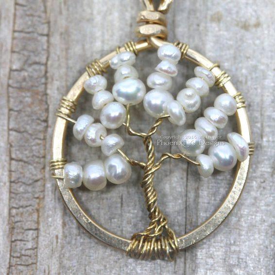 June Birthstone Pearl Pendant