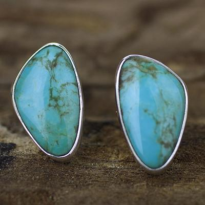 December Birthstone Earrings - Turquoise