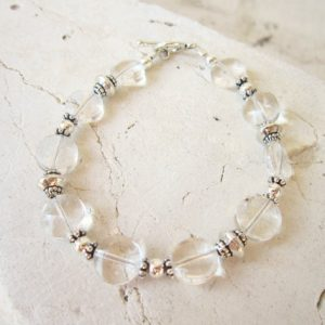 April Birthstone Bracelets - Quartz by Jens Bead Box