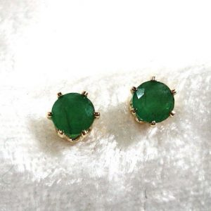May Birthstone Earrings - Emerald by Jewelry by Patterson