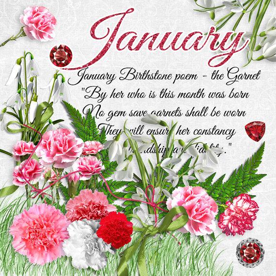 January Birthstone and Gemstone