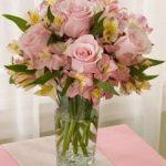 October Pink Flower Bouquet