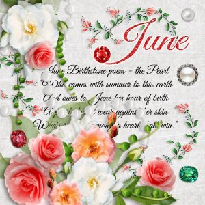 June Birthstone Color and Flower
