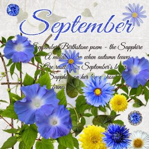 September Birthstone Color and Flower
