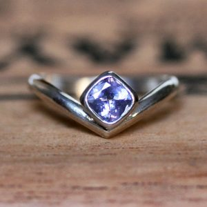 December Birthstone Ring - Natural Tanzanite