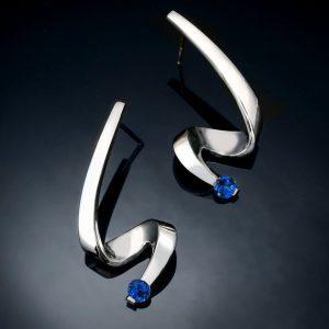 Blue Sapphire Silver September Birthstone Jewelry