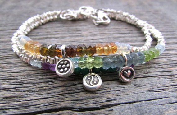 Custom Mothers Birthstone Bracelet