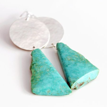 Turquoise and Silver December Birthstone Jewelry