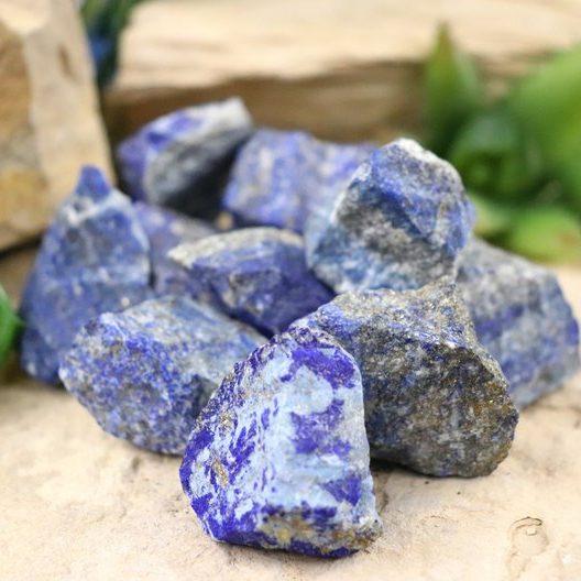 Alternative September Birthstone Rough Lapis Lazuli Stone