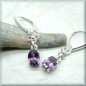 Alexandrite June Earrings