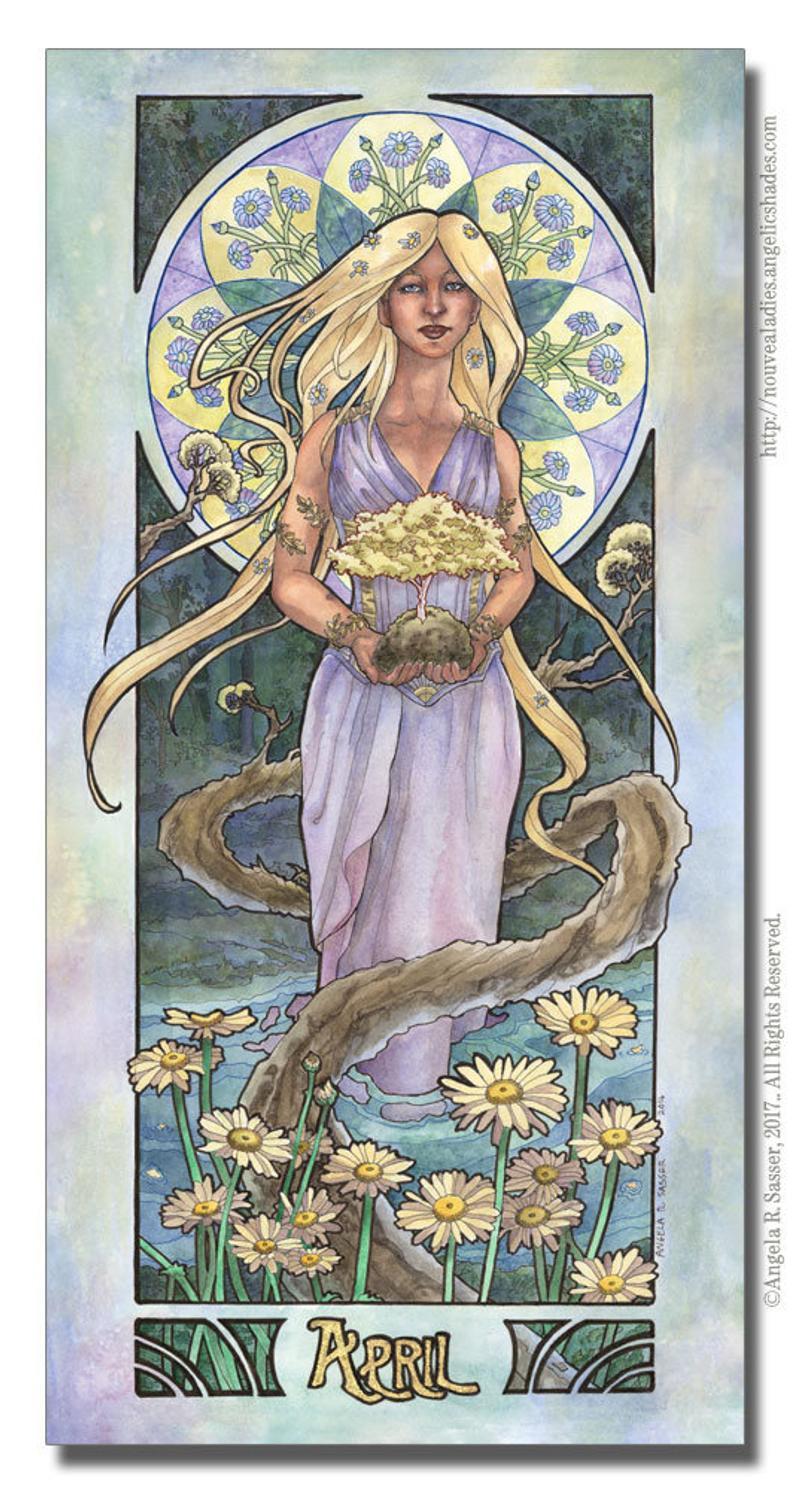 April Birthstone Goddess