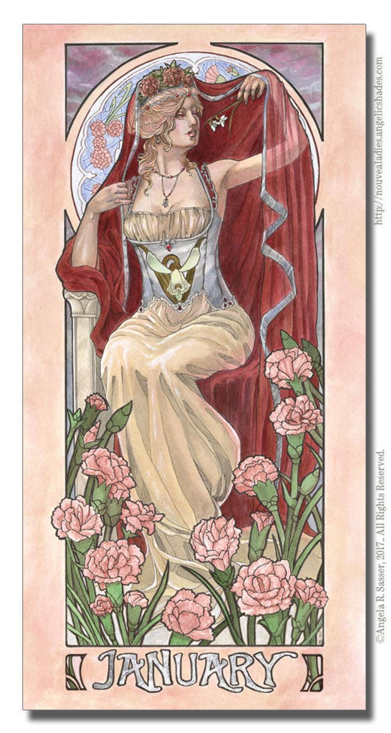 January Birthstone Goddess