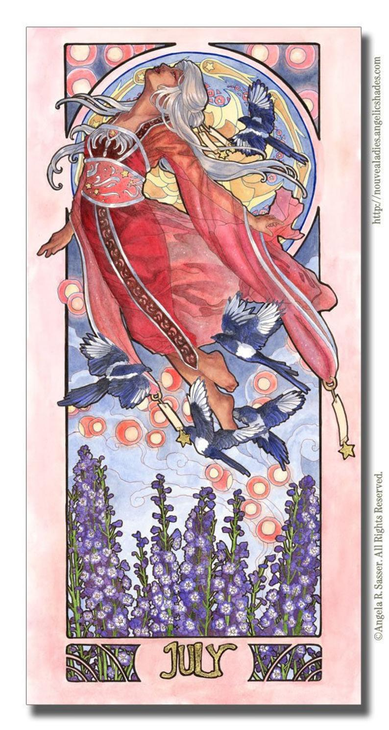 July Birthstone Goddess