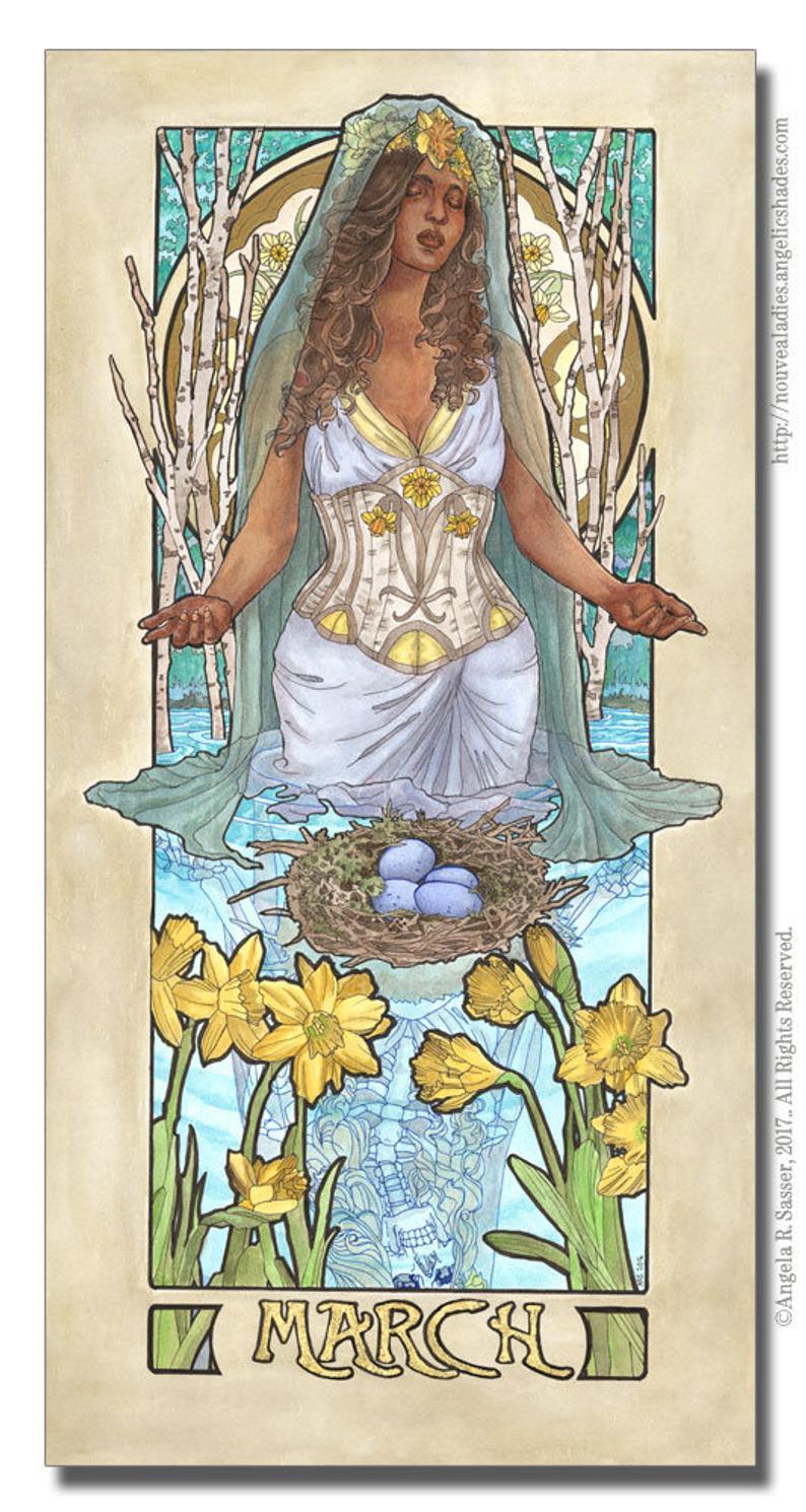 March Birthstone Goddess