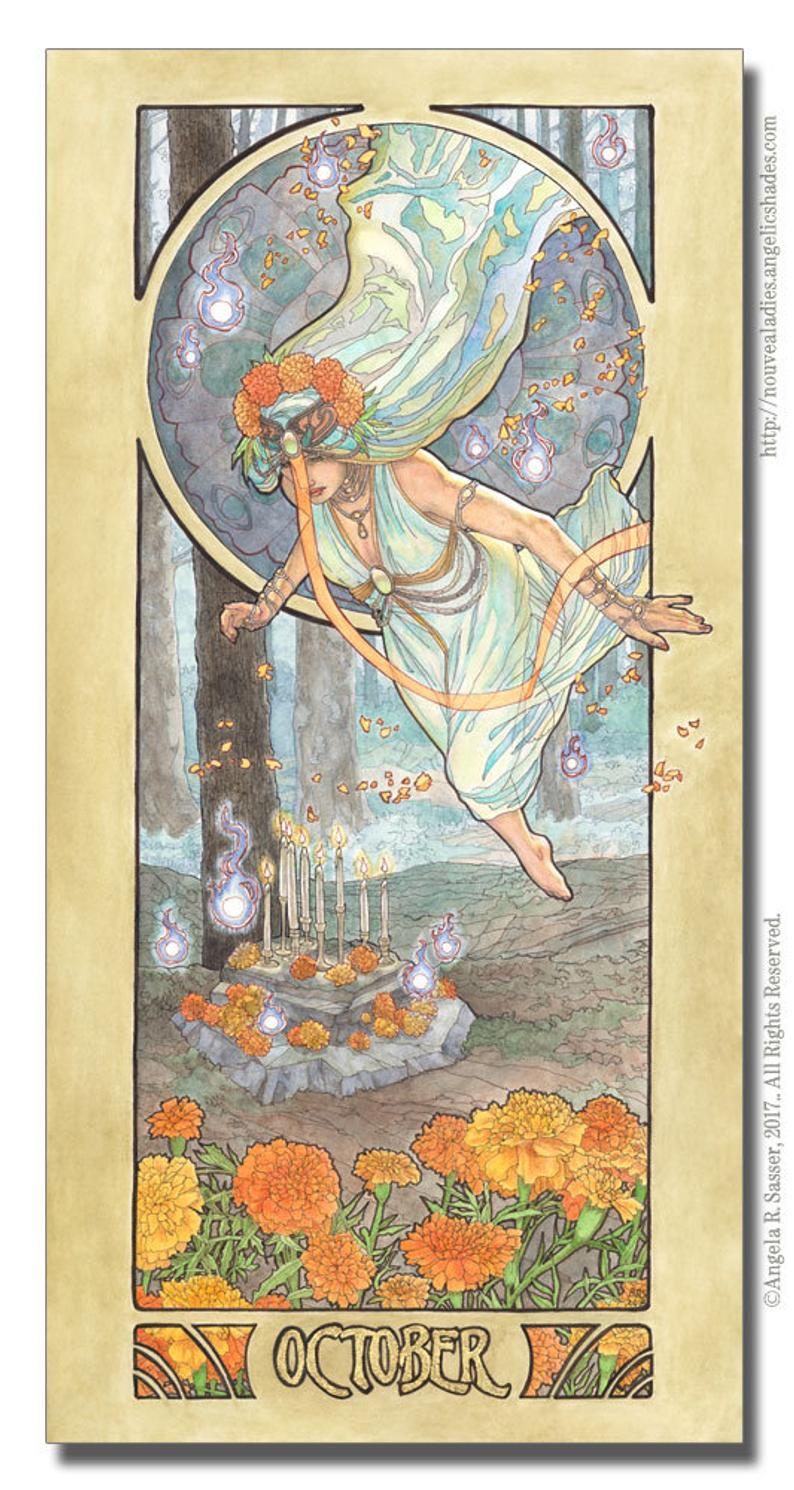 October Birthstone Goddess