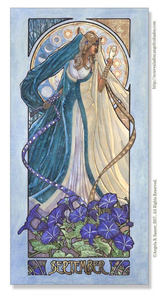 September Birthstone Goddess