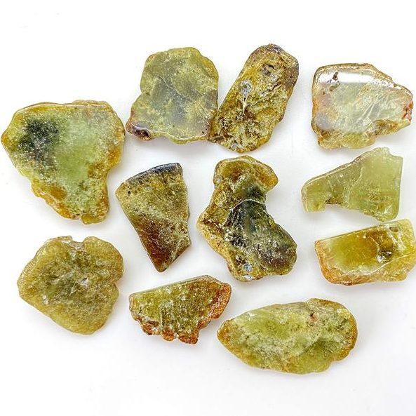 January Birthstone Alternative Green Grossular Garnet