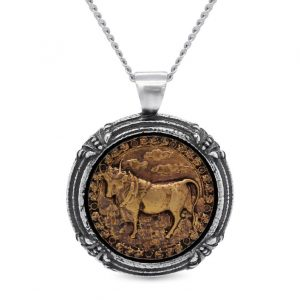 Taurus Necklace by OroCouture